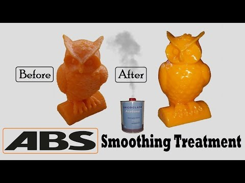 ABS - Acetone Vapor Smoothing Treatment