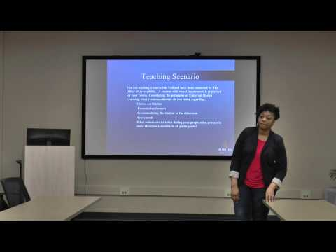 PDS - Universal Design with Tina Gilbert - February 26, 2015