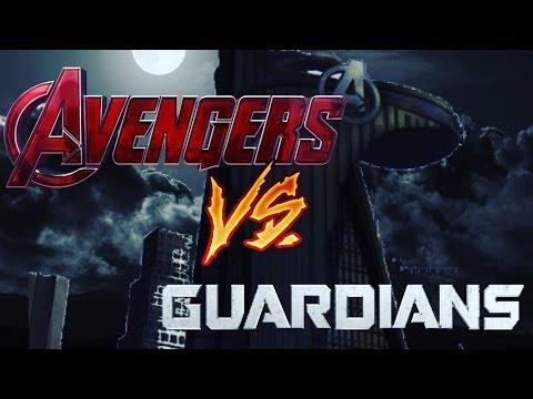 Avengers VS Guardians Part 1 [A Marvel Stop-Motion] (Avengers Infinity War Stop-Motion)
