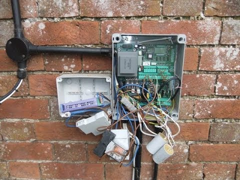 hqdefault how not to install an automatic gate control panel youtube electric gate wiring diagram at reclaimingppi.co
