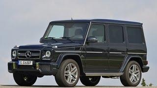 Mercedes G 63 AMG - Der gewaltige Antritt verblüfft