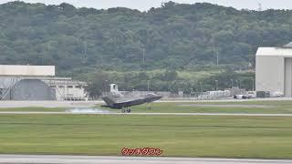 F35が一時配備。嘉手納飛行場に。(2018前半)