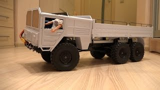 ЗВЕРЬ 6х6 ... Часть 3 (RC4WD Beast II 6x6)...электроника, кузов и тест