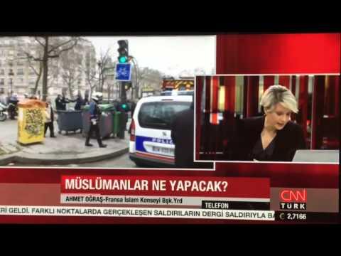 Ahmet Ogras - Charlie Hebdo dergisine yapılan Saldırıyı CNN