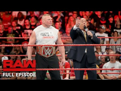 WWE RAW Full Episode - 21 August 2017