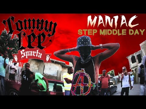Tommy Lee Sparta - Maniac & Step Middle Day - LYRIC VIDEO
