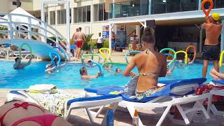 Наш отдых в Турции июль-август 2019. Отдых в Сиде. Side Yesiloz Hotel. Средиземное море.