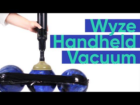 Wyze Handheld Vacuum - Bowling Ball Power Demonstration