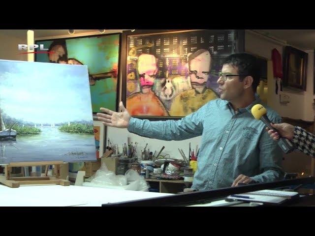 Achter de toonbank: Kunst en Lijsten