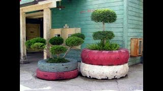 Best Recycled Tyre Ideas For The Gardens