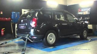 Dacia Duster 1.5 dci 85cv Reprogrammation Moteur @ 106cv Digiservices Paris 77 Dyno