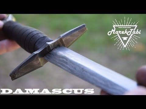 Making Damascus Dagger