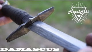 Making Damascus Dagger