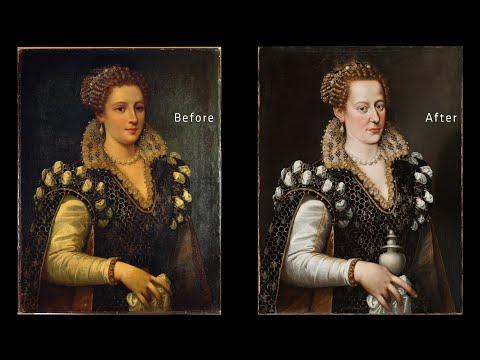 Behind the Scenes: The Restoration of Isabella de' Medici