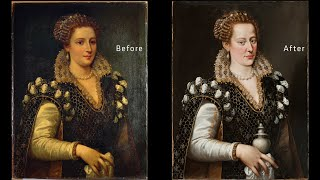 Behind the Scenes: The Restoration of Isabella de' Medici