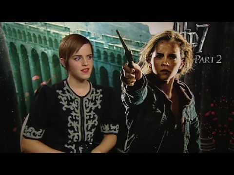 Interview Emma Watson Talks Harry Potter And The Deathly Hallows Part 2 Youtube