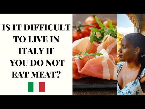 IS IT POSSIBLE TO BE VEGAN-VEGETARIAN IN ITALY? - I WILL SHARE MY EXPERIENCE WITH YOU