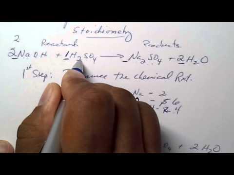 Stoichiometry Part 1
