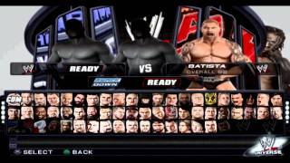 WWE 12 PS2 Project v2 Bug Fixes