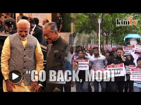 NGOs protest Modi's official visit