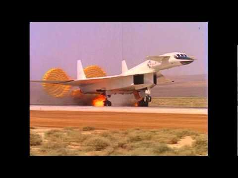 XB-70 Valkyrie Emergency Landing and fire