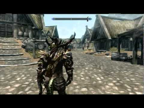SKYRIM - DRAGONSCALE ARMOR - YouTube