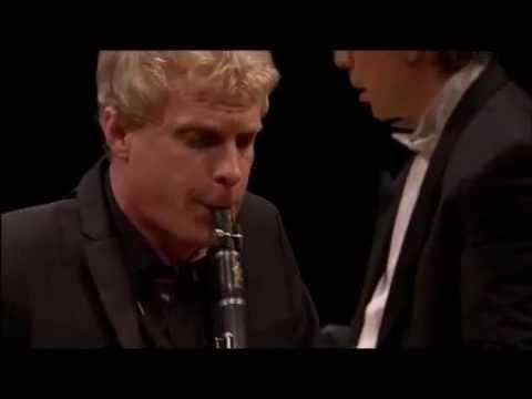 Martin Frost  Mozart Clarinet Concerto No 1 KV  622   II  Adagio