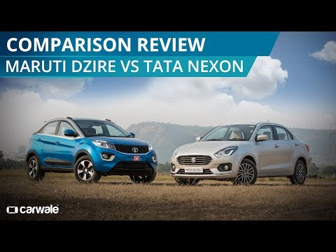 Maruti Dzire Vs Tata Nexon | Comparison Video | CarWale