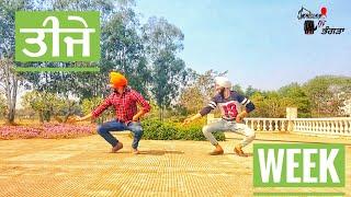 Bhangra on Teeje Week    Jordan sandhu    Impression Of Bhangra (2018)