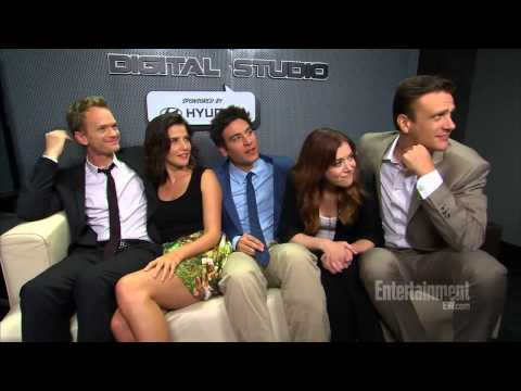 'How I Met Your Mother' stars tear up over final season - InsideTV EW.com interview at Comicon 2013