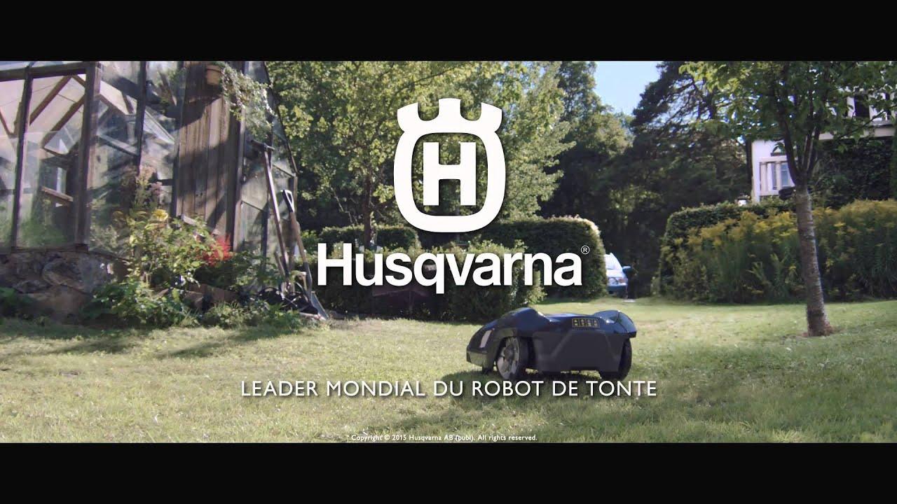 Spot tv automower husqvarna 2015 obtenez un r sultat de for Robot de tonte husqvarna