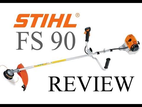 Stihl FS 90 Brush Cutter FULL Review FS90