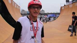 Rony Gomes nas finais do Kia World Extreme Games