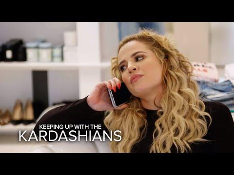 KUWTK | Khloé Kardashian Receives An Emotional Call From Lamar | E!