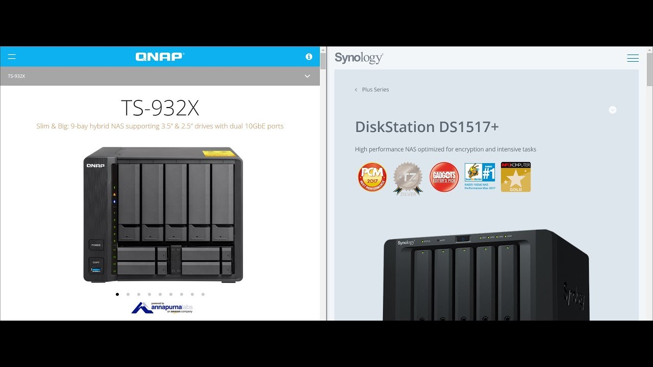 QNAP TS-932X vs Synology DS1517+ : SMB (Encryption) Write Perfromance Test  (2000 Photos)