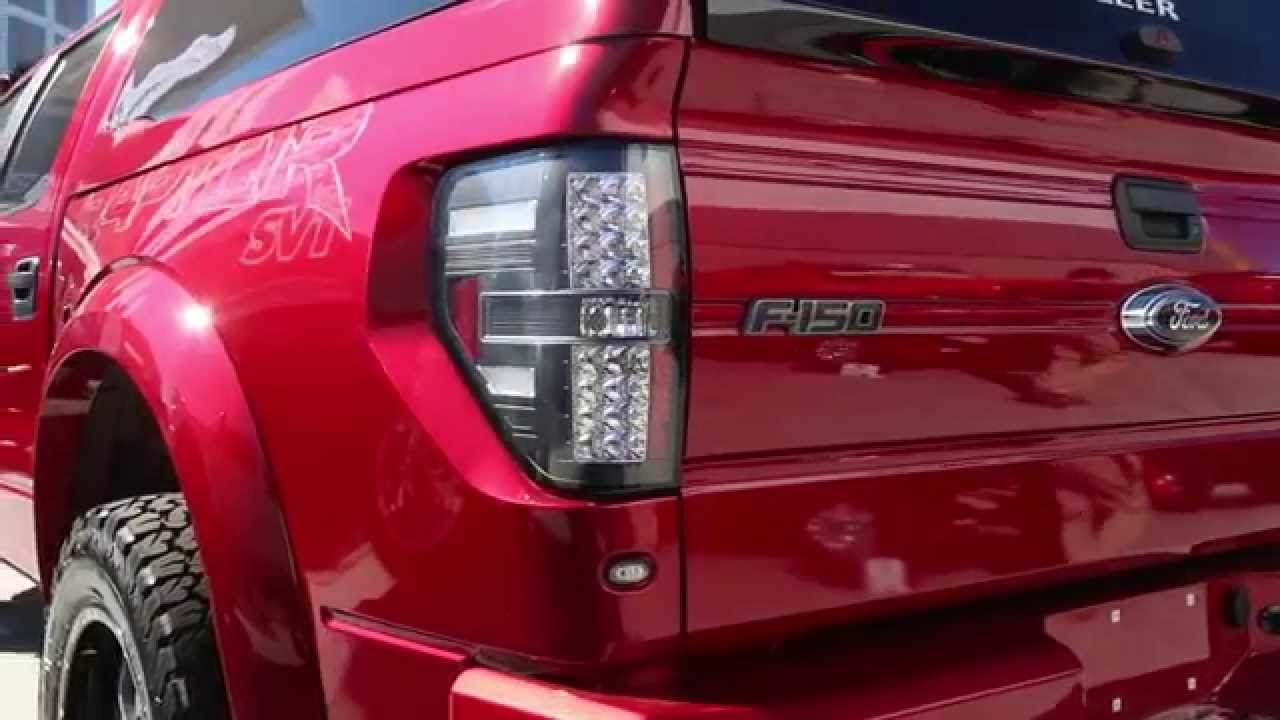 Spyder Auto Presents 2009 2017 Ford F150 Led Tail Lights At Sema You