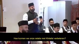 How can we improve our connection with Khilafat?