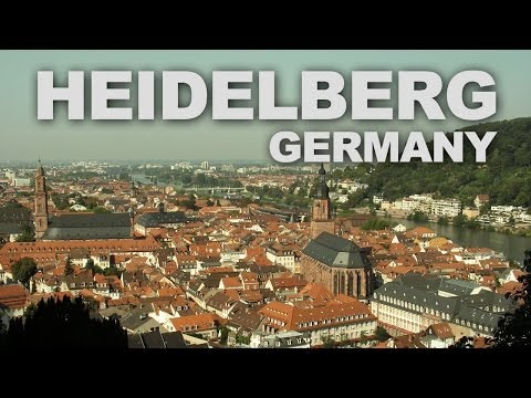 Heidelberg, a Romantic University City in Germany