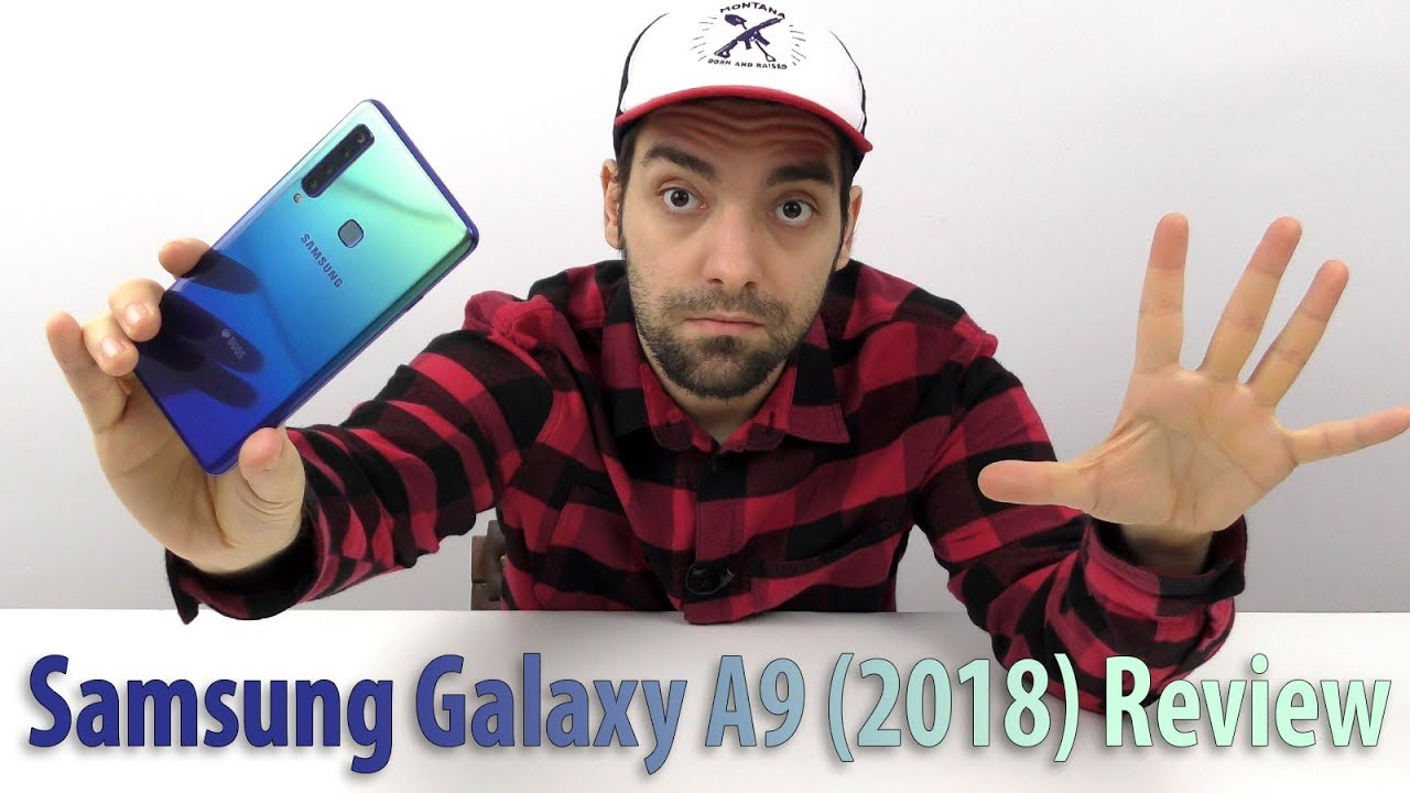 Samsung Galaxy A9 (2018) Review în Limba Română (telefon cu 5 camere 4+1)