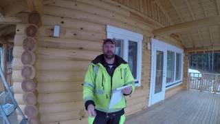 Гвозди для перфорированных уголков и пластин . На что крепить перфорированный уголок к дереву .(Строительство домов в Финляндии . Началось сотрудничество с фирмой Lumi polar http://lumipolar.ru/, 2016-11-17T12:35:30.000Z)