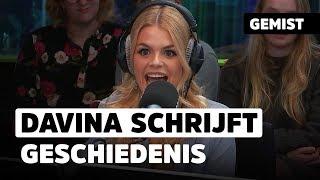 Davina Michelle kikt Frenna & Lil' Kleine van #1 positie zonder het te weten! | 538Gemist