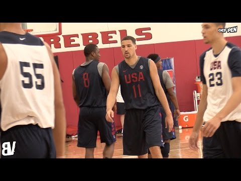 Team USA 2016 VS USA Select 2016 Scrimmage DAY 2 | USA At UNLV July 2016