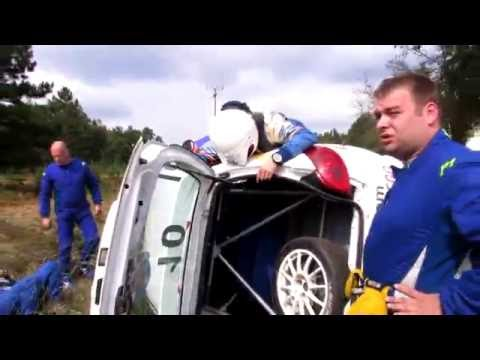49. Serbia Rally - Vladimir Dika Zecevic high speed crash :( (moment after crash)