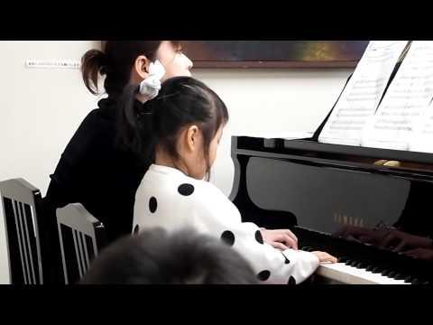 ひなこ はじめてのピアノはっぴょうかい