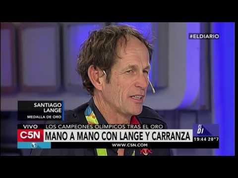 C5N - Deportes: Santiago Lange y Cecilia Carranza, los ganadores olímpicos