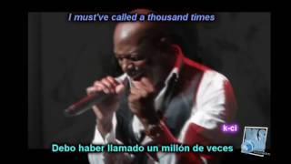 Hello - Adele - Joe Tribute (lyrics + sub español)