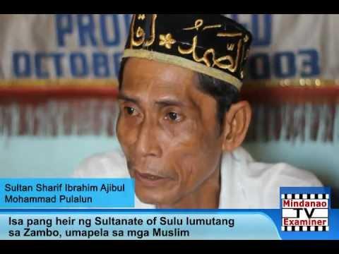 Mindanao Examiner Television Guest: Sultan Sharif Ibrahim Ajibul Mohammad Pulalun