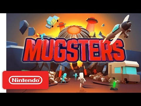 Mugsters Launch Trailer - Nintendo Switch