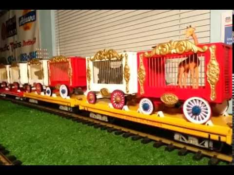 Bachmann G Scale 40 Plus Car Circus Train/Imagination Station Kids on Track (STATION VIEW) Part 2