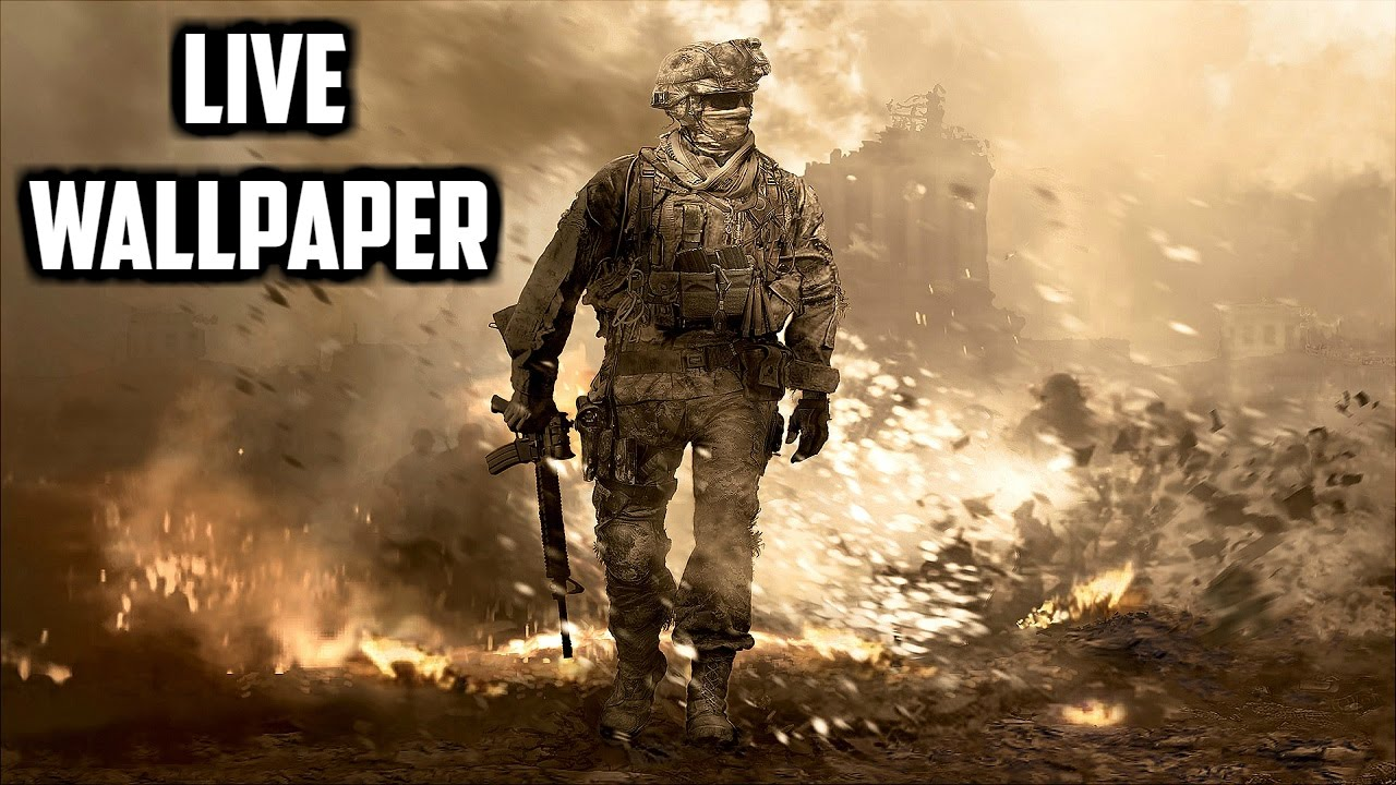Call Of Duty Live Wallpaper For Android Youtube